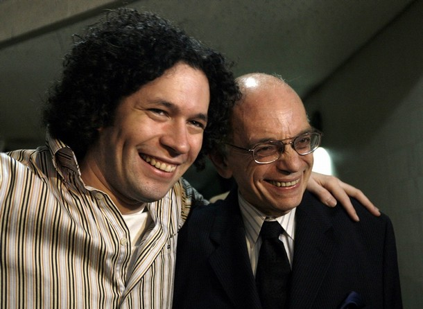 Dudamel and abreu