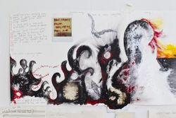 Anna Clyne painting -- Feb 1 2012